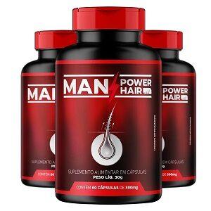 Man Power Hair Embalagens
