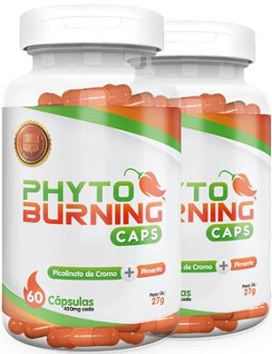 Phyto Burning Caps Embalagem