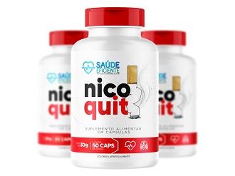 NicoQuit Caps Embalagens